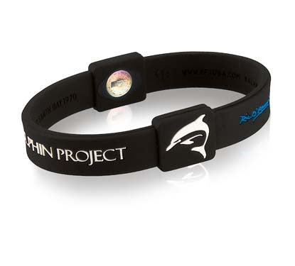 Silicone Sport Wristband - Dolphin Project