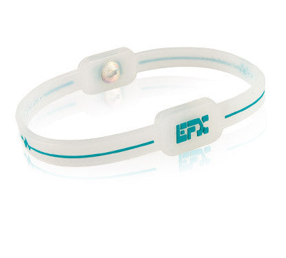 Silicone Ultra 2 Anklet - Translucent / Teal