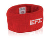 Terry Cloth Wristband - Red / White