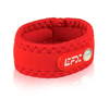 Neoprene Sport Wristband - Red / White