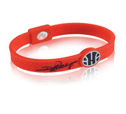 Silicone Sport Wristband - Deron Williams Point of Hope (Red)