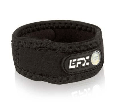 Neoprene Sport Wristband - Black / White