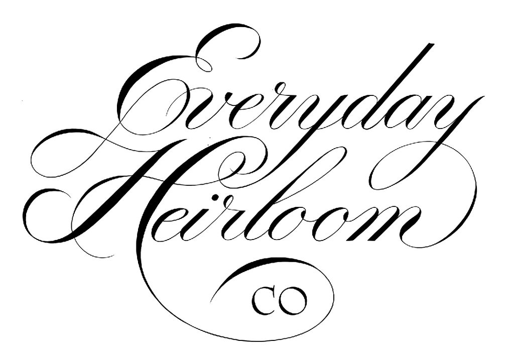 Behind the Name: Everyday Heirloom