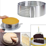 Adjustable Stainless Steel Cake Slicer - Kitchen Ideas Store