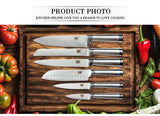 XYj Stainless Steel Kitchen Knives Set - Kitchen Ideas Store