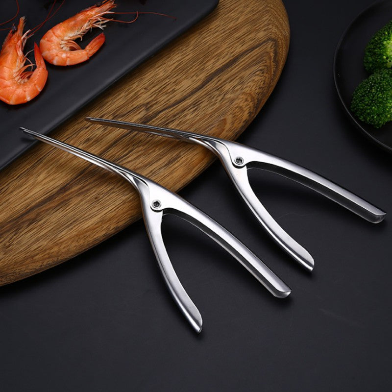 NORBI Stainless Steel Prawn Shrimp Peeler - Kitchen Ideas Store