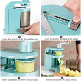Multifunctional Manual Vegetables Spiral Shred Cutter - Kitchen Ideas Store