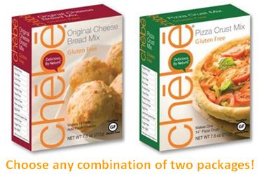 Chebe 2-Pack <br />Choose your combo <br />Shipping included! <br />Two 7.5 oz packages.