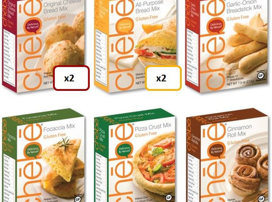 Mixed Case: 8-pack, 7.5 oz. per package - chebe