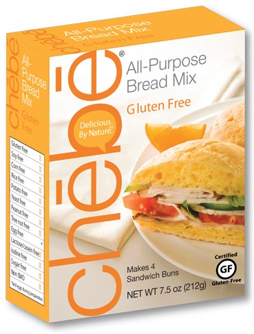 All-Purpose Bread Mix: 8-pack case - 7.5 oz. per package - chebe