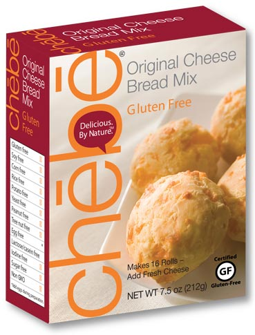 Original Cheese Bread Mix: 8-pack case, 7.5 oz. per package - chebe