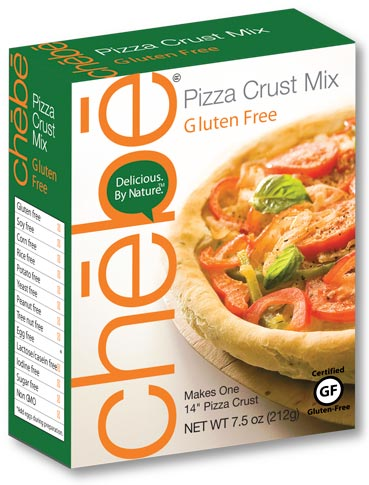 Pizza Crust Mix: 8-pack case, 7.5 oz. per package - chebe