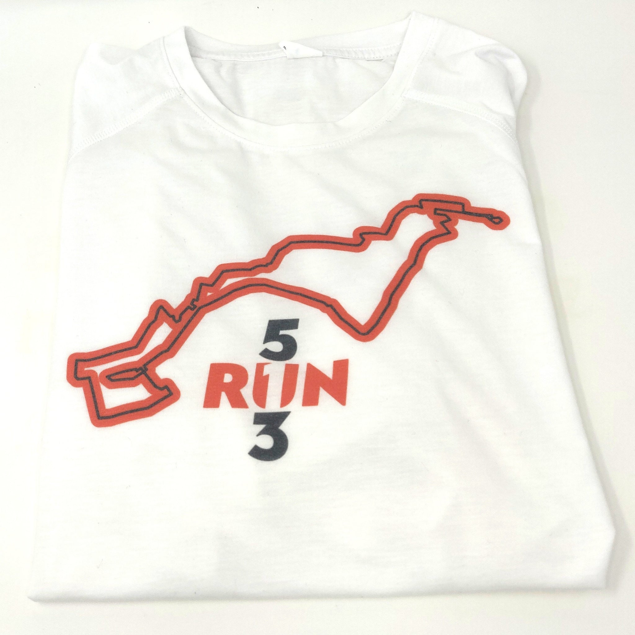5RUN3 Flying Pig Raglan Running Top