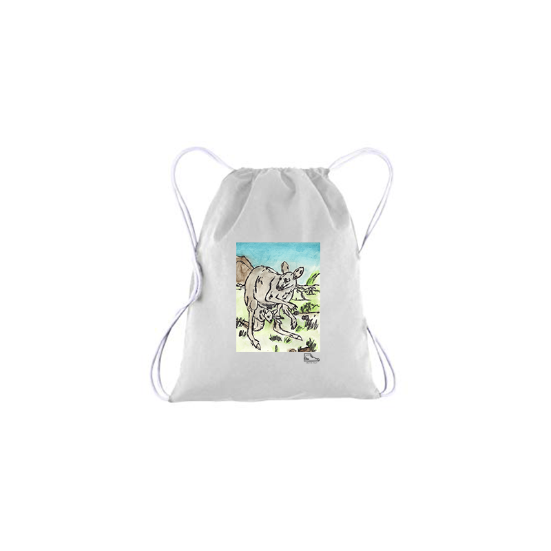 Adam Meyers Kangaroo Drawstring Bag
