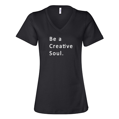 Be a Creative Soul V-Neck
