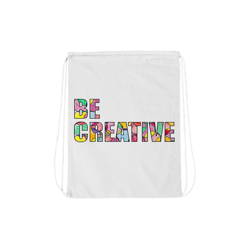 Be Creative Drawstring Bag