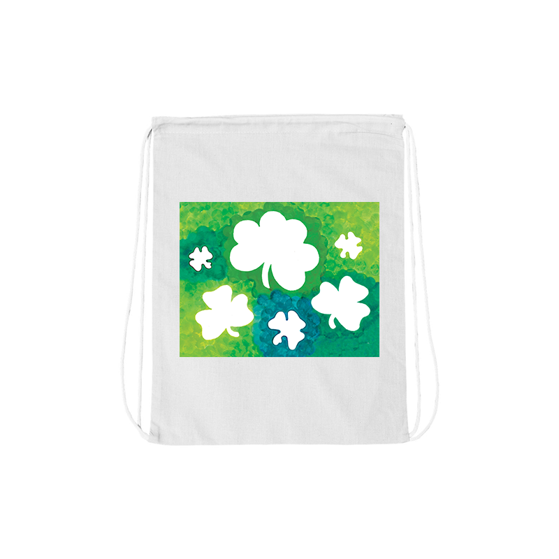 Carl Martin Shamrock Drawstring Bag