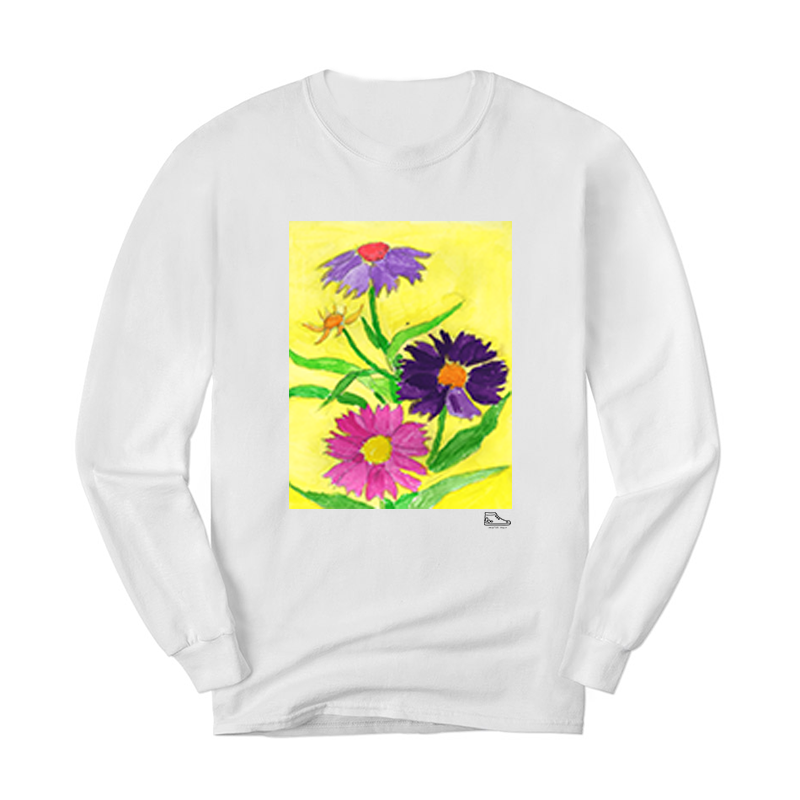 Estella Levin Colorful Flowers Long Sleeve
