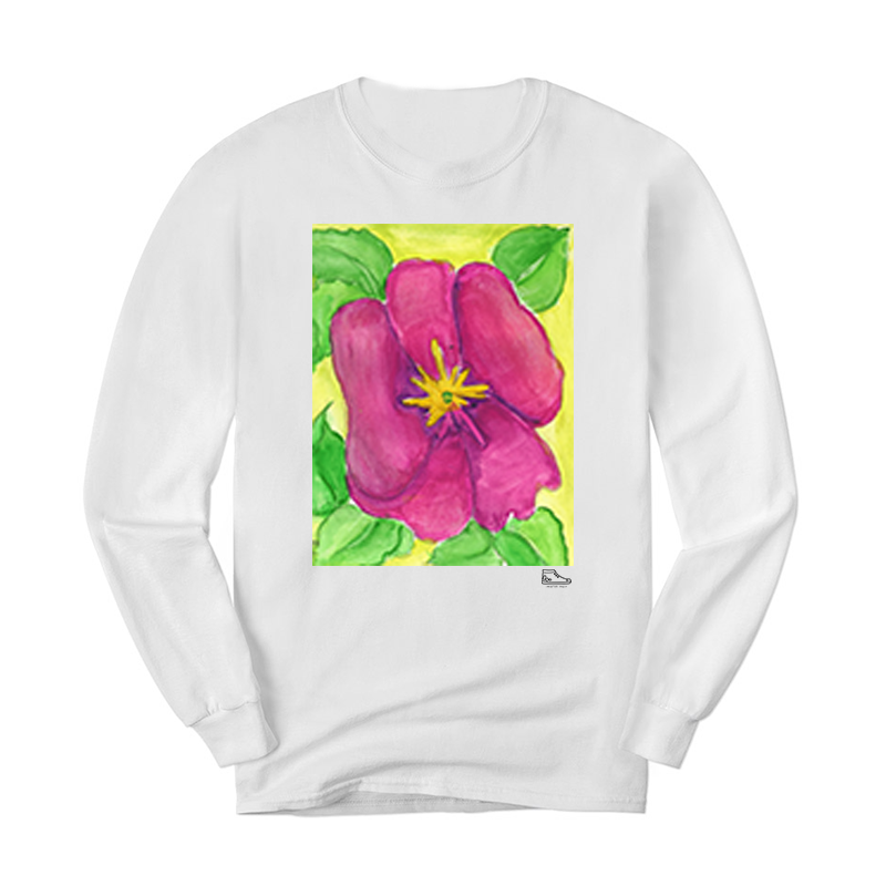 Estella Levin Pink Flower Long Sleeve