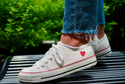 Heart Beat Low Top Soles