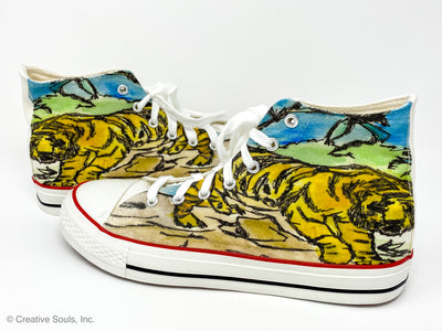 Adam Meyers Tiger Hi Top Soles
