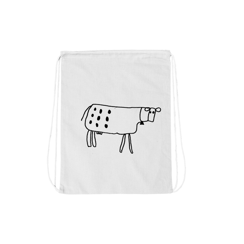Joe Wilson Moo Drawstring Bag