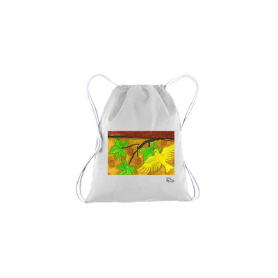 Michelle Rappaport Bird Drawstring Bag