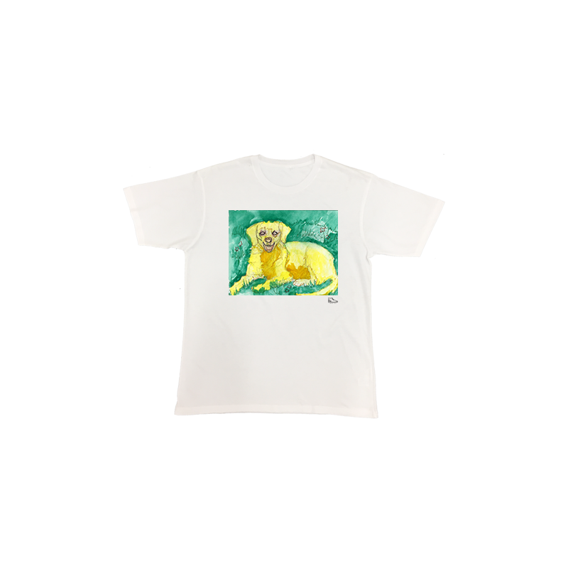 Michelle Rappaport Golden Retriever Short Sleeve