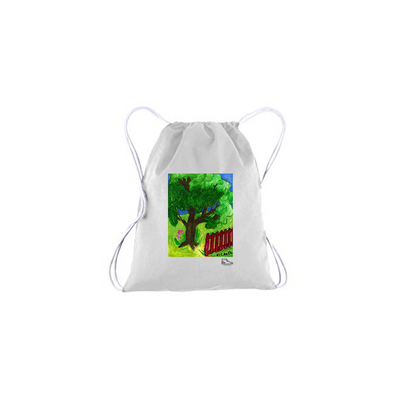 Michelle Rappaport Yard Drawstring Bag
