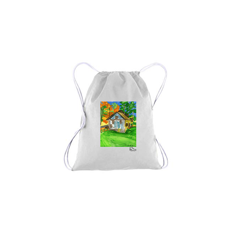 Michelle Rappaport Cabin Drawstring Bag
