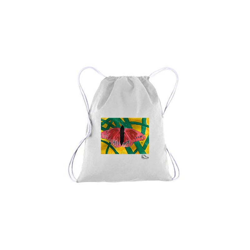 Noah Bronfeld Butterfly Drawstring Bag