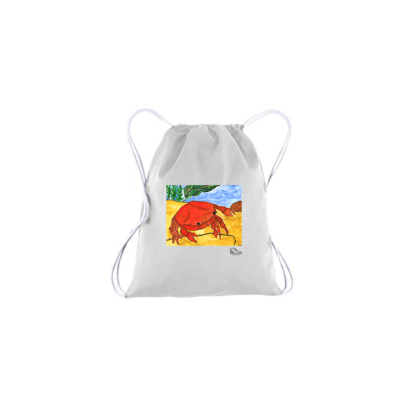 Noah Bronfeld Crab Drawstring Bag