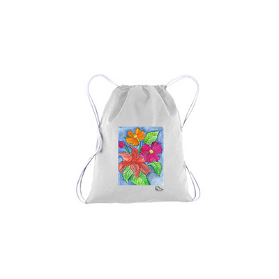 Sam Potashnick Blossom Drawstring Bag