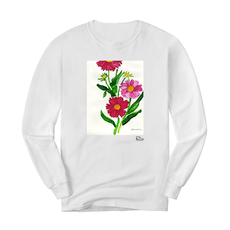 Sam Potashnick Flowers Long Sleeve