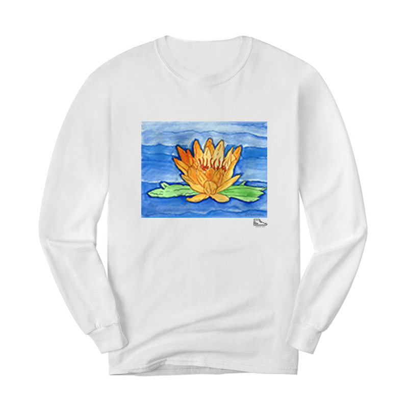 Sam Potashnick Water Lilies Long Sleeve