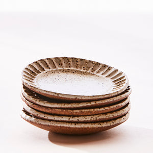 Fluted Mini Plate