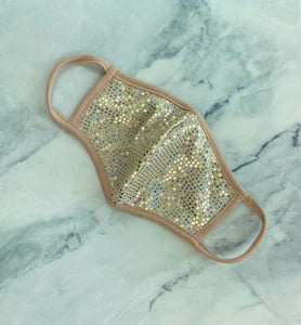 Glitter Mask w/ filter pocket