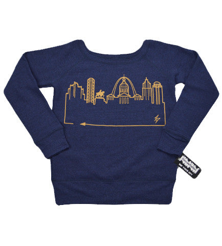 ST. LOUIS • Gold on Navy