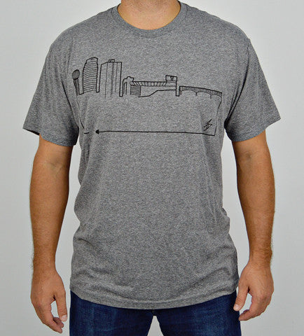 KNOXVILLE • Black on Grey
