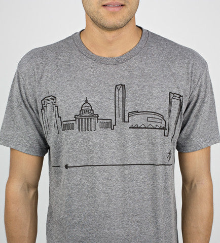 OKLAHOMA CITY • Black on Grey