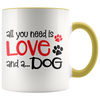 All You Need is Love Accent Mug