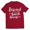Rescue Is My Favorite Breed Unisex T Shirt