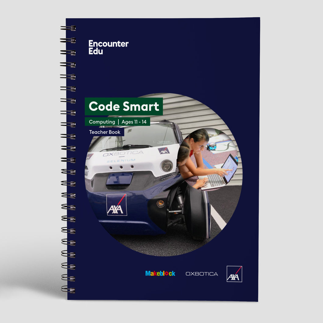 Code Smart Teacher Book Ages 11-14