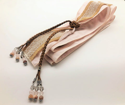 Handmade Hand Fastening for Blessing Ceremony