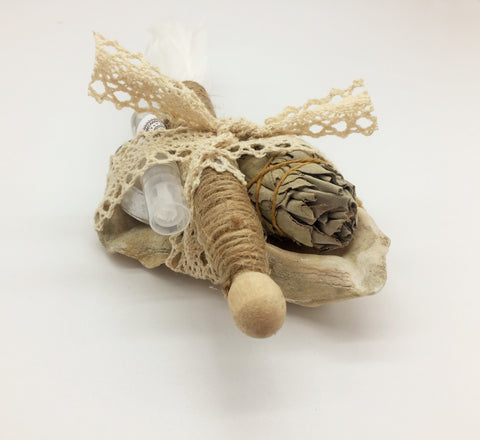 Ancient Ritual Smudging & cleansing kit