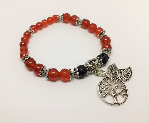 Carnelian Motivating & Energising Aroma Jewellery