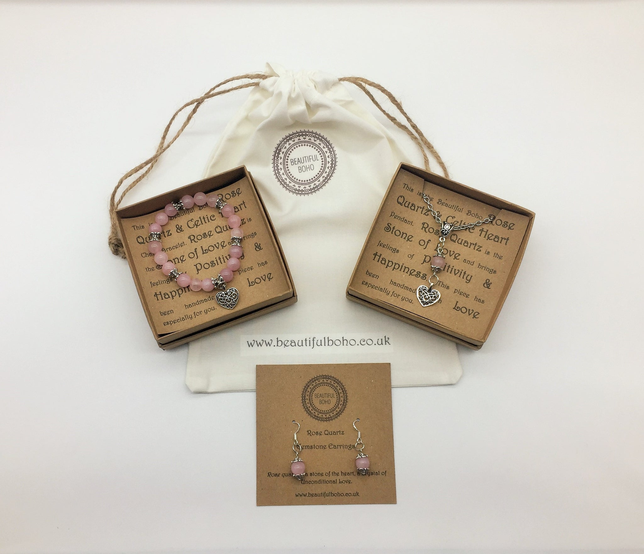 Rose Quartz Unconditional Love Set