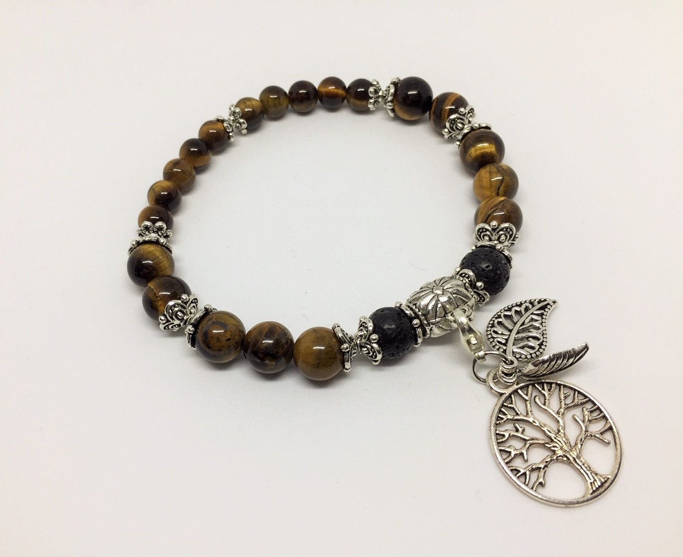 Emotionally Grounding Tigers Eye Creativity, Meditation & spirituality Aroma Jewellery