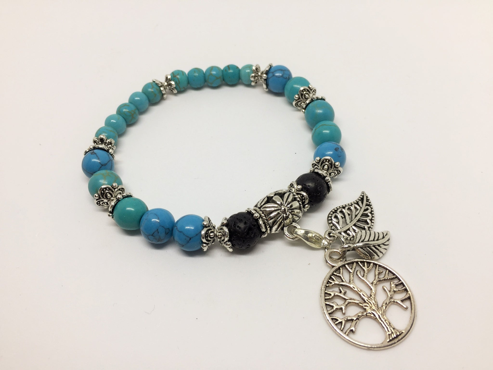 Turquoise Positivity & Happiness Aroma Jewellery