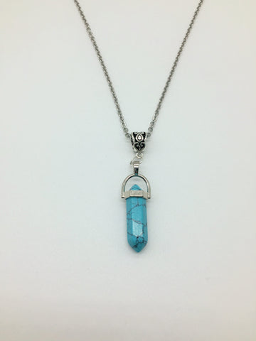 Positivity & Happiness Turquoise Pendant